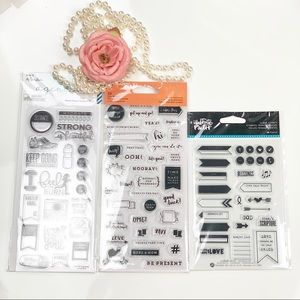 88pcs cleat stamps